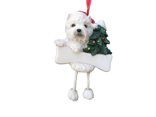 Westie Puppy Ornament with Unique
