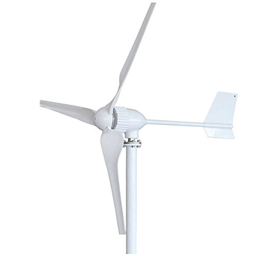 HUKOER Wind Turbine Generator 600W-1000W DC 12V/24V/48V High Efficiency Wind Green Energy 3 Blades Perfect for Workshop / Garage / coastal zone / Mountain ranges / Agricultural fields (600W-24V) by HUKOER