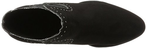 Marco para Black Comb Tozzi 25054 Negro Chelsea Mujer Botas zqrzIFw