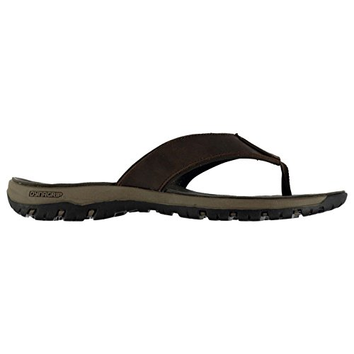 Karrimor Mens X Thong Shoes Slide Slip On Toe Post Water Pool Beach Summer Brown ie3uP5G