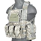 Lancer Tactical CA-307 Modular Chest Rig PALS MOLLE Vest and...