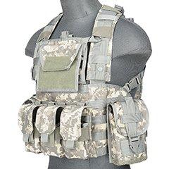 Lancer Tactical CA-781GX Modular Chest Rig Tactical Gear - (Modular Plate Carrier)