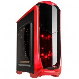 Rd Aviator (Kolink Aviator Midi Tower Gaming Case - Red)