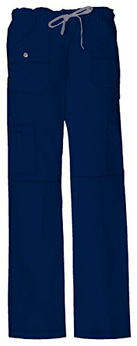 - Dickies Women's Low Rise Drawstring Cargo Pant_D-Navy_Small,857455