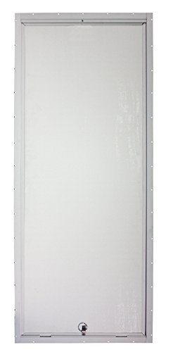 Mobile Home Water Heater 23'' x 60'' White Access Door by Mobile Home Parts