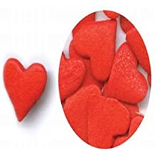 Jumbo Red Heart Sprinkles, 2.4 Ounce Package