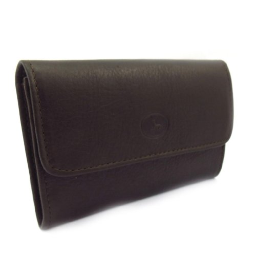 Wallet brown leather leather 'Frandi' dark brown Wallet 'Frandi' Wallet dark 'Frandi' leather qI66Zw