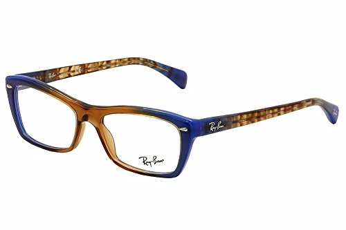 Ray-Ban Vista RX5255 5488 Eyeglasses Gradient Brown on - Cat Ban Frames Glasses Eye Ray