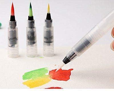 Generic Pinsel-Set Wasserfarben und 24 Verschiedene T-Spitzen 3 St/ück