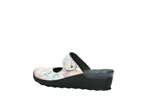 Wolky Il Comfort Pelle Colore Multi Bianca Canale Intasa 70980 wPaZ7rqw