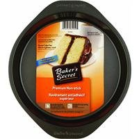 Ekco Metal - Baker's Secret Basics Nonstick 8-Inch Round Cake Pan