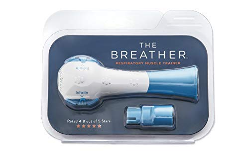 The Breather - Inspiratory/Expiratory Respiratory Muscle Trainer | for Drug-Free Therapy and Training