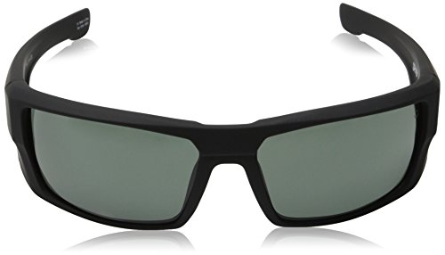 Spy-Optic-Dirk-Wrap-Sunglasses-Soft-Matte-BlackHappy-GrayGreen-64-mm