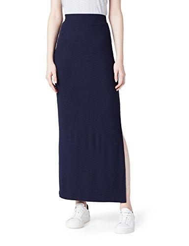 Femme Maxi Fit Bleu Jupe MERAKI Blue Slim IPqCTww