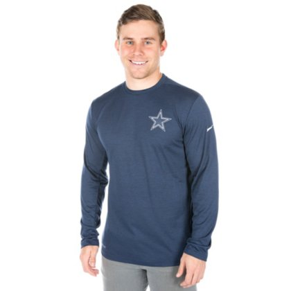 7e02a362 Amazon.com : Dallas Cowboys Nike Coach Long Sleeve Top : Clothing