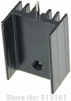 10 Pieces//lot 21x15x11mm Aluminum Heatsink Cooler TO-220 TO220 Cooling Cooler Fins