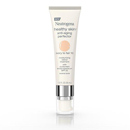 Neutrogena Healthy Skin Anti-Aging Perfector Spf 20, Retinol Treatment, 10 Ivory Fair, 1 Fl. (Anti Aging Tinted Moisturizer)