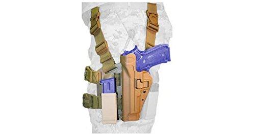 BlackHawk Tactical SERPA Thigh Holster, Left Hand, Beretta 9