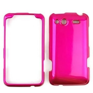 HTC Salsa Honey Hot Pink Hard Case, Snap On Cover