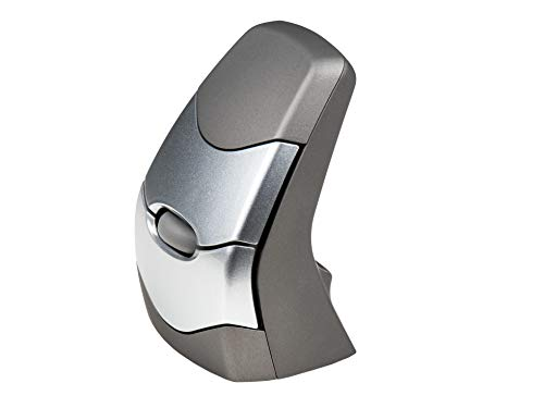 Kinesis Ergonomics Vertical Ergonomic Mouse 2 (Wireless) (Best Ambidextrous Wireless Mouse)