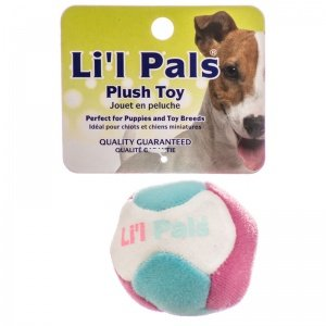 Li L Pals Plush Ball With Bell Coastal Lil Pals Toy