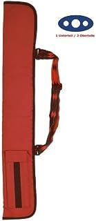 Stecca da biliardo della Soft, parte inferiore per 1/2senza colore borgogna parte inferiore per 1/2senza colore borgogna Winsport