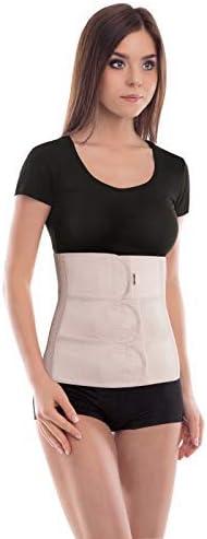 cinturón abdominal de sujeción; sujeción de espalda; banda de sujeción abdominal; banda de sujeción del vientre; 31cm de altura Large Beige
