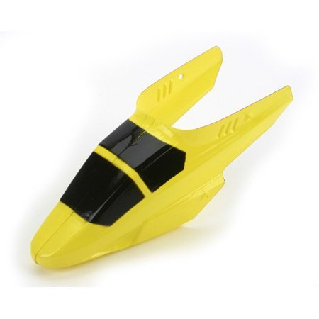 E-Flite Body/Canopy, Yellow without Decals: Blade MCX
