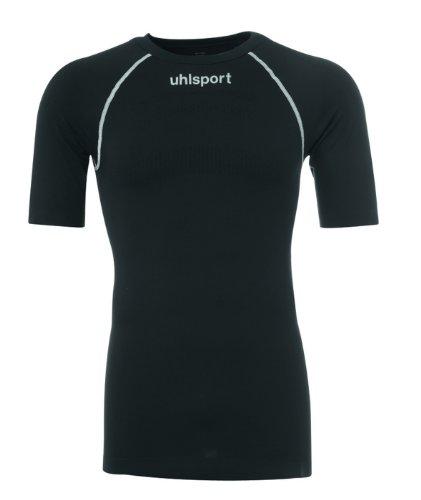 uhlsport Uni Thermo Shirt Kurzarm, schwarz, S/M, 100204002