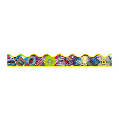 Trimmer Discover Science Classroom Border [Set of 3]