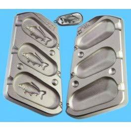 A1 - MOU124 - Moldes de carpa para plomo de pesca (PBS, 110-