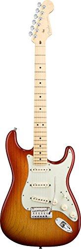 Fender American Deluxe Stratocaster, Ash Body, Maple Fretboard - Aged Cherry Sunburst