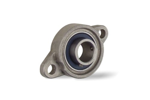 KFL002-15MM, 15mm Mounted Unit Bearing, 2-Bolt Flange ()