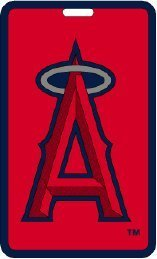 Los Angeles Angels - MLB Soft Luggage Bag Tag