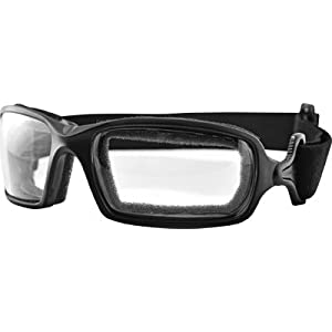 Bobster Fuel Photochromic Goggles - One size fits most/Black w/ Clear