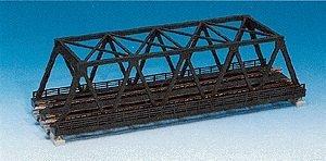 N 248mm 9-3/4 Double Track Truss Bridge, Silver by