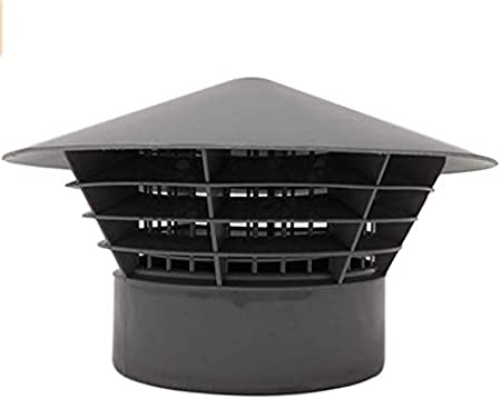 Rain Hat 4 by Capricorn Grill Vent Cage Soil Stack Cover Cap 110 mm Vent Cowl