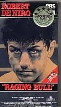 Raging Bull (1980) CBS/FOX Original Release VHS