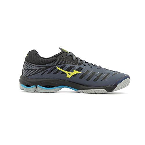Mizuno bleu marine Shoe Wave Herren bleu Sneakers Lightning jaune 7x7nUOZ