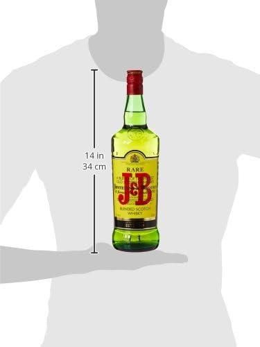 J&B Rare Whisky Escoces - 1 l: Amazon.es: Alimentación y ...