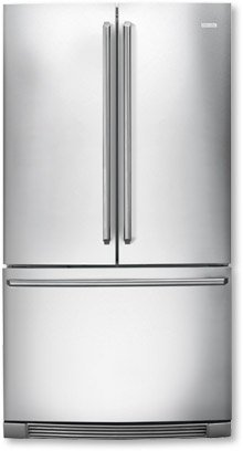 Electrolux EI23BC80KS IQ-Touch 22.6 Cu. Ft. Stainless Steel Counter Depth French Door Refrigerator - Energy Star