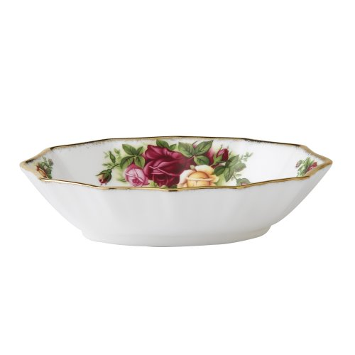 (Royal Albert Old Country Roses Oval Sweet Dish)