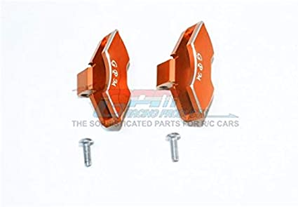Aluminum Front Knuckle Arms #85076-4 G.P.M 1Pr Set Orange Traxxas Unlimited Desert Racer 4X4