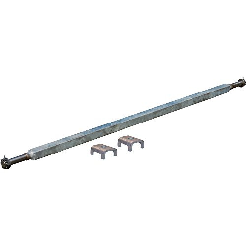 Ultra-Tow 2,000-Lb. Capacity Spring Trailer Axle with Adjustable Spring (2000 Lb Trailer Axle)