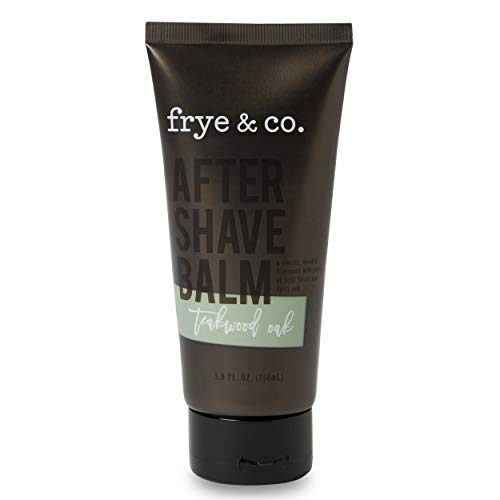 Frye & Co. Teakwood Oak Scented After Shave Balm With Notes Of Light Floral And Spicy Timber Fragrance