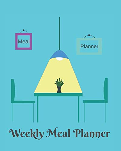 Weekly Meal Planner: A 52 week planner plus grocery shopping list to help you organize and make meal planning a little easier. by Neaterstuff Publishing