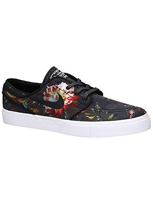 Nike Zoom Stefan Janoski CNVS Mens Skateboarding-Shoes 615957-900_6 - Multi-Color/Black-White-Gum Light Brown
