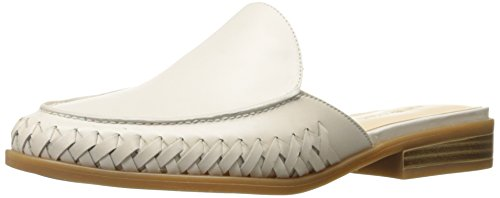 Women's Leather Juanita White Nine Mule West Off 8tUnRw5q