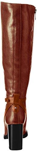 Tommy Hilfiger Damen H1285illary 10a1 Stiefel Braun (cognac)