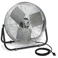 TPI 1-Phase, 120V 12 Industrial Floor Fan 1/12 HP